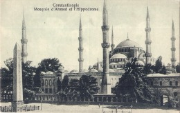 *** TURQUIE ***  CONSTANTINOPLE  Mosquée Ahmed Et L'Hippodrôme - Neuve Unused - Turquia