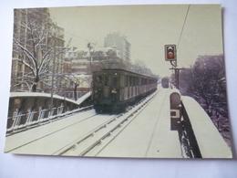 PARIS RATP : Motrice SPRAGUE-THOMSON (1908) En Service Jusqu'en 1983 - Subway