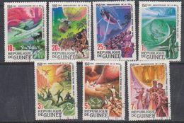 République De Guinée 1979 Jules Verne 7v Used Cto (38098A) - Guinee (1958-...)