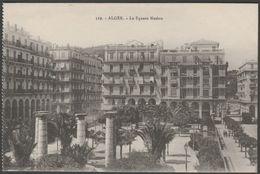 Le Square Neslon, Alger, C.1910s - Régence CPA - Algiers