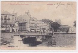 Narbonne Entree De La Ville Pont Voltaire Animée 1904 - Narbonne