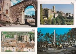 LOT  De  8  CPM  De  AUPS  (83)   //  TBE - Cartoline