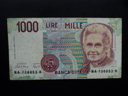 ITALIE : 1000 LIRE  24.10.1990  P 114a / CI 66 BS 494 *   TB+ - [ 2] 1946-… : République