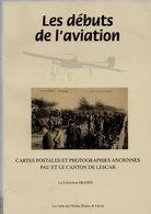 Pau.Lescar. Les Debuts De L'Aviation Par La Carte Postale. - Aviation