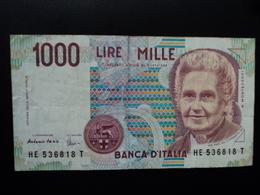 ITALIE : 1000 LIRE  18.12.1995  P 114c / CI 66 BS 498 *   TTB - [ 2] 1946-… : Républic