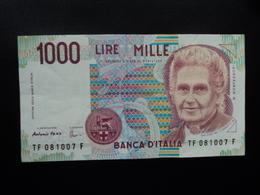 ITALIE : 1000 LIRE  26.11.1996  P 114c / CI 66 BS 499 *   TTB+ - [ 2] 1946-… : Républic