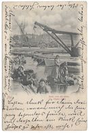 Pula Pola Istria Istra Istrien Croatia Hrvatska Croazia Kroatien Sulla Riva Del Porto Am Hafen - Quai 1899 - Croazia