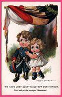 Illustration FRED SPURGIN - Tout Est Perdu Excepté L'honneur ! - Militaire - Drapeau Belge - Enfant - COMRADE Ser.N° 964 - Spurgin, Fred