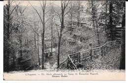 Cpa L'Argonne - Abris Allemands Au Camp Du Kronprinz Ruprech / German Shelter . - Guerra 1914-18