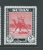 Sudan 1951 Definitive 50 Pt Camel Post Fresh MNH - Sudan (...-1951)