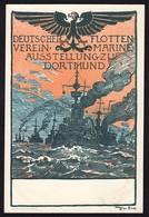 AK Dortmund Marine-Ausstellung Deutscher Flottenverein 1900 Ruhfus   (16931 - Sin Clasificación
