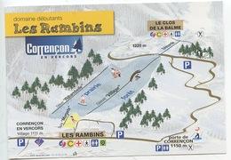 Corrençon En Vercors : Les Rambins - Clos De La Balme - Grand Buisson(domaine Débutants Easy) - France