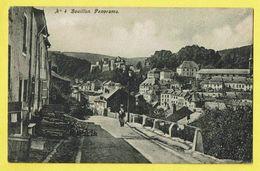 * Bouillon (Luxembourg - La Wallonie) * (nr 4) Panorama, Vue Générale, Animée, Algemeen Zicht Chateau, Rare - Bouillon