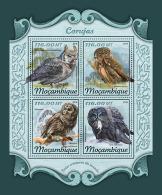 MOZAMBIQUE 2018 MNH** Owls Eulen Hiboux M/S - OFFICIAL ISSUE - DH1811 - Eulenvögel