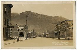 Real Photo Bank Street Wallace Idaho - Etats-Unis