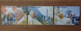 2005 VATICANO FRANCOBOLLI NUOVI STAMPS NEW MNH** - Viaggi Di Papa Giovanni Paolo II Nel 2004 - - Vaticano