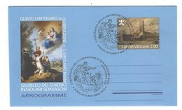 Aérogramme Gestempeld - Vaticaanstad