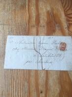Lettre De Liège Pour Lodelinsart  Avec Cachet SR  à Voir 1841 - 1830-1849 (Belgique Indépendante)