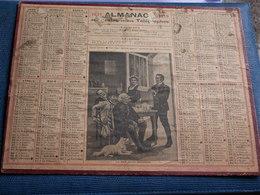 CALENDRIER 1919  Grand Format Des Postes Et Télégraphes - Calendars
