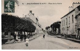 77  Jouy  Le Chatel  La Place De La Mairie - France