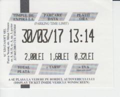 Parking Ticket - Tickets - Vouchers
