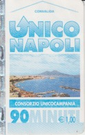 Italia - Unico Napoli - Subway Ticket - Europe