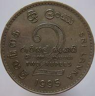 Sri Lanka 2 Rupees 1995 FAO VF/XF - Sri Lanka