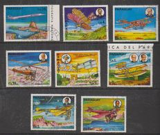 Paraguay 1977 Airplanes 8v Used Cto (38101) - Paraguay