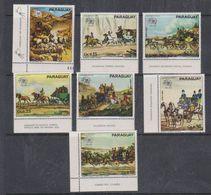 Paraguay 1974 UPU 7v ** Mnh (38101A) - Paraguay