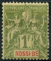 Nossi Bé (1894) N 39 * (charniere) - Nuovi