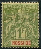 Nossi Bé (1894) N 39 * (charniere) - Nossi-Bé (1889-1901)