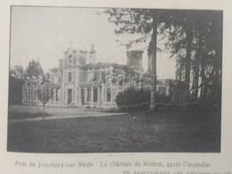 1109 Chateau Mumm Près Jonchery Sur Vesle 8*11 Cm - 1914-18