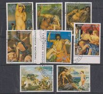 Paraguay 1976 Paintings/Space 8v Used Cto (38102C) - Paraguay