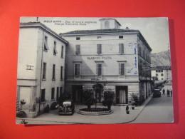 CARTOLINA  RIOLO BAGNI ALBERGO RISTORASNTE POSTA    ANIMATA    D -  2541 - Ravenna