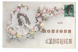 ENGHIEN LES BAINS (95) Carte Fantaisie Bonjour De - Enghien Les Bains