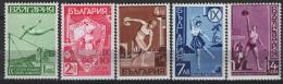 Bulgaria 1939 Unif.360/64 */MH VF - 1909-45 Kingdom