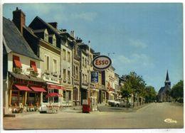27 ROUTOT ++ Grande-Rue - L'Eglise ++ Pompe à Essence ESSO - Routot