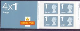 Great Britain 2012 RB 3 DIAMOND JUBILEE4x1st Booklet Cat £ 10,00 - 1952-.... (Elisabetta II)
