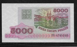 Belarus -  5000 Rublei - Pick N°12 - Neuf - Belarus