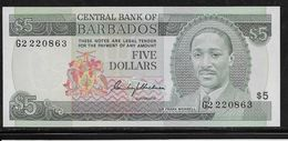 Barbades -  1 Dollar - Pick N°32 - Neuf - Barbados