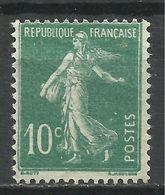 FRANCE , FRENCH , 10 Cts , Type Semeuse Fond Plein , Type I A , 1921 - 1922 , N° YT  159 A - 1906-38 Semeuse Camée
