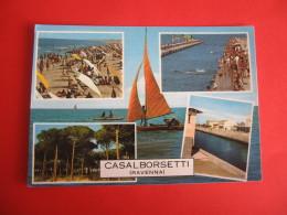 CARTOLINA  CASALBORSETTI VEDUTINE       D -  1633 - Ravenna