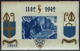 Belgie 1942 - Orval Blok - OBP BL21 - Blocks & Sheetlets 1924-1960