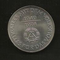 DDR - 10 MARK ( 1974 - DDR ANNIVERSARY ) Eastern Germany / Germania Est / Deutschland - Altri
