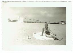 Foto/Photo. Pin Up/Femme En Maillot. Aro De Mar. - Pin-Ups