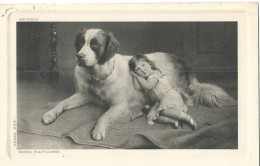 Chiens - Chien - Hond - Hund - Dog - Reichert - Bien Fatiguée - Serie 282 - Honden