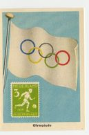 Flags & Stamps - 68 - Olympiade, Olympic Games - Kaufmanns- Und Zigarettenbilder
