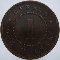 Cyprus 1 Piastre 1886 F/VF - Cyprus