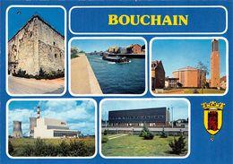Bouchain Péniche Péniches Blason Centrale Mastaing - Bouchain