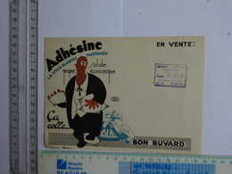 BUVARD ADHESINE LA COLLE BLANCHE PARFUMEE - Buvards, Protège-cahiers Illustrés